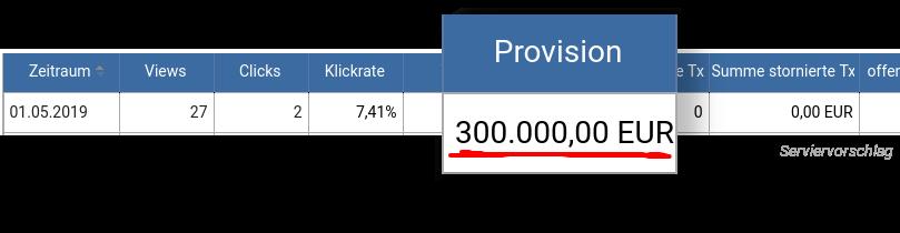300.000 Euro für einen B2B-Sale