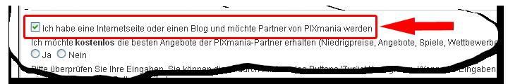 PixMania wirbt Partner per Bestellvorgang