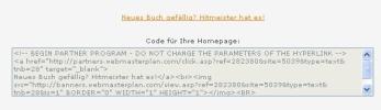 Vorgefertigte Textlinks zum direkten Einbau in die Webseite